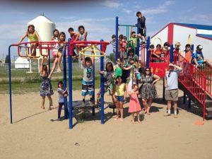 Liidlii Kue Elementary School playground
